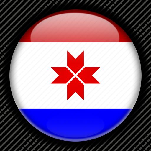 asia, mordovia, russia icon
