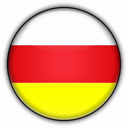 asia, north, ossetia, russia icon