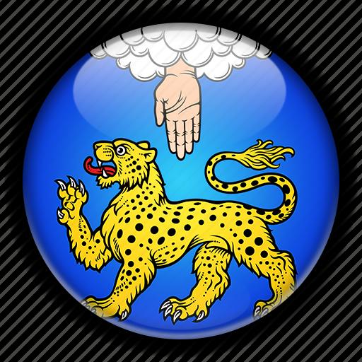 asia, pskov, russia icon