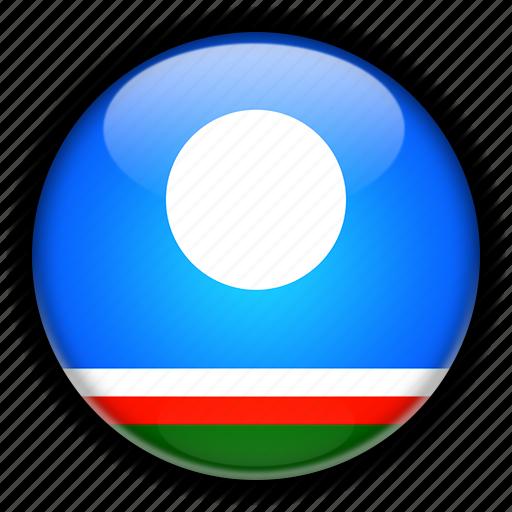 asia, russia, sakha icon