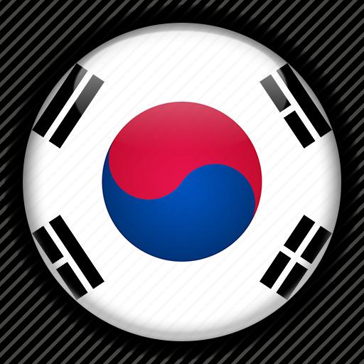 asia, korea, south icon