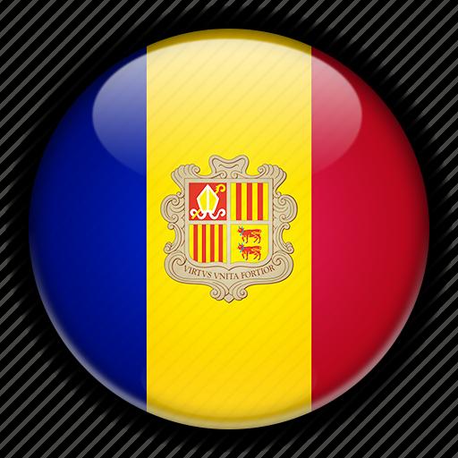 andorra, europe icon