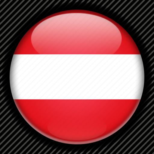 austria, europe icon