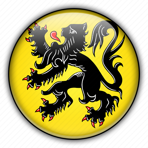 belgium, europe, flanders icon