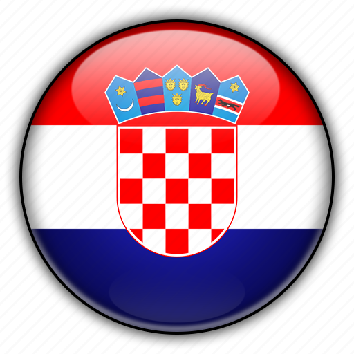 croatia, europe icon