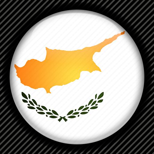 cyprus, europe icon