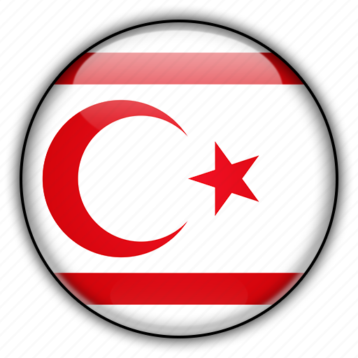 cyprus, europe, northern, of, republic, turkish icon