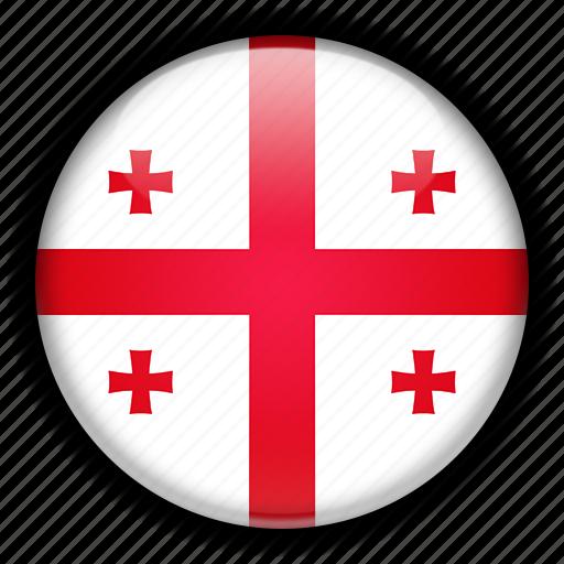 europe, georgia icon