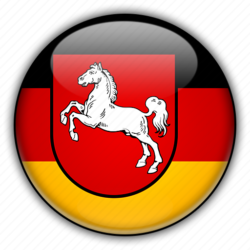 europe, germany, lower, saxony icon
