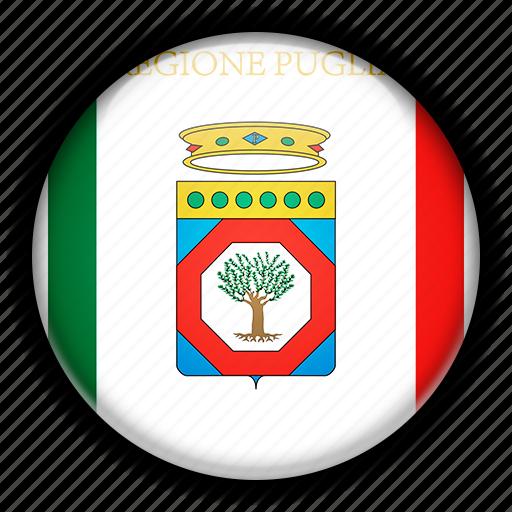 apulia, europe, italy icon