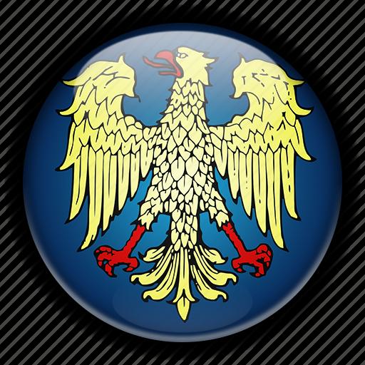 europe, friuli, italy icon