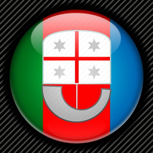 europe, italy, liguria icon