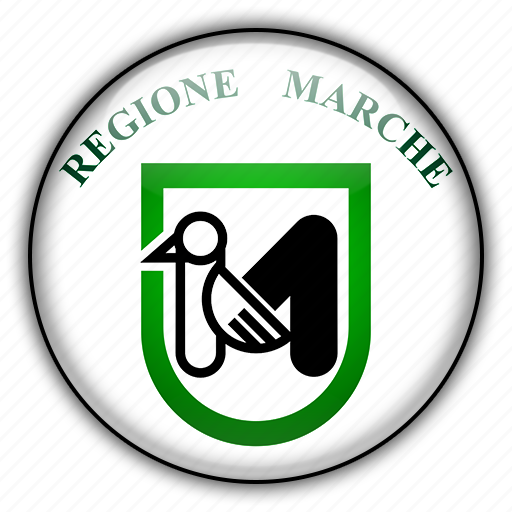 europe, italy, marche icon
