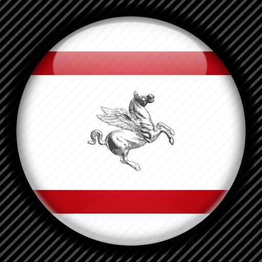 europe, italy, tuscany icon