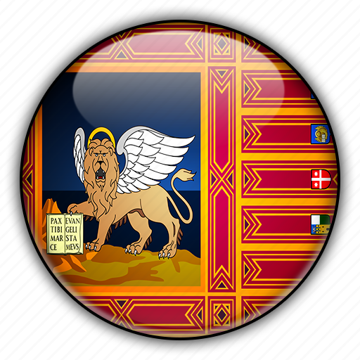europe, italy, veneto icon