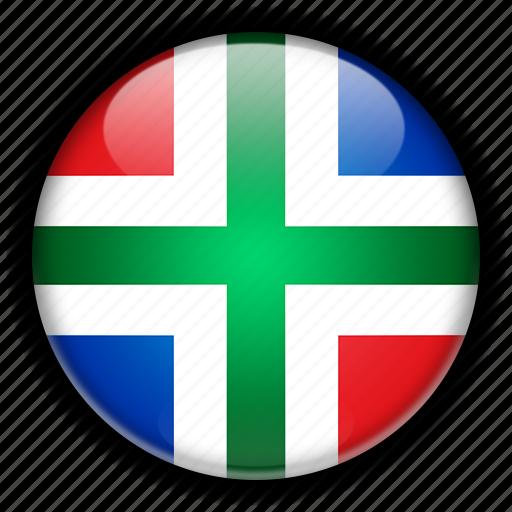 europe, groningen, netherlands icon
