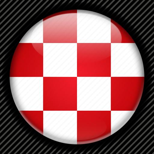 brabant, europe, netherlands, north icon