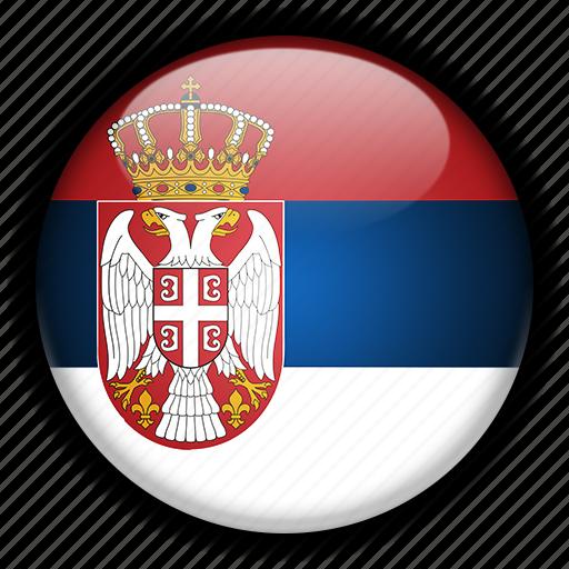 europe, serbia icon