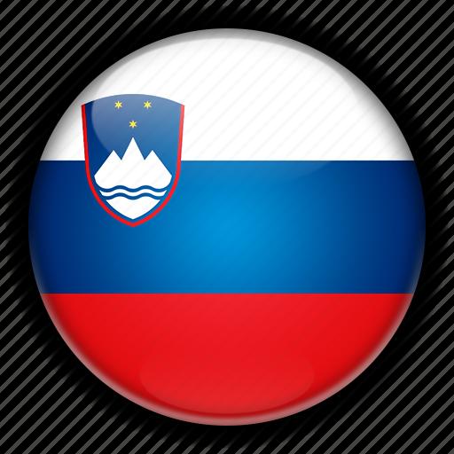 europe, slovenia icon