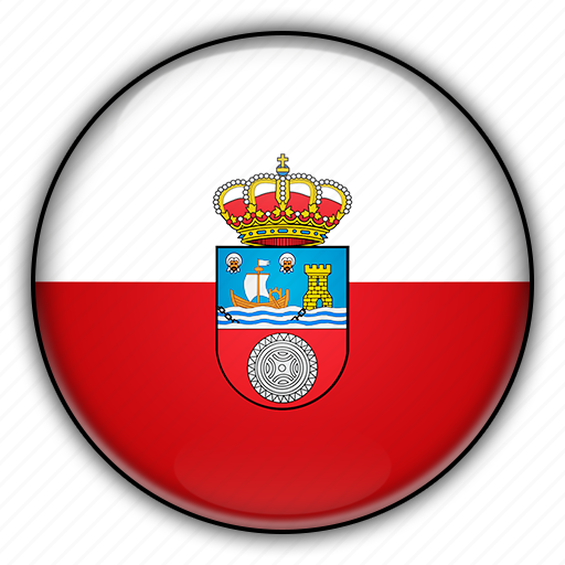 cantabria, europe, spain icon