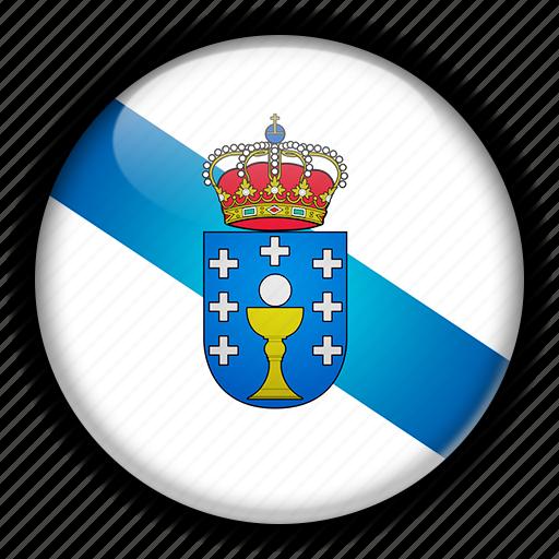europe, galicia, spain icon