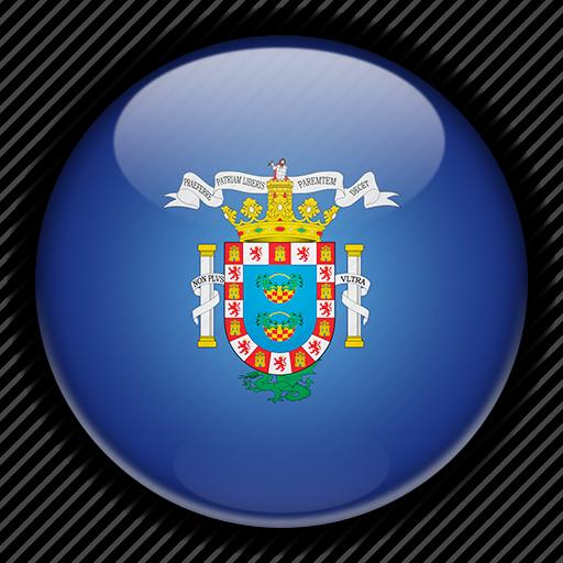 europe, melilla, spain icon
