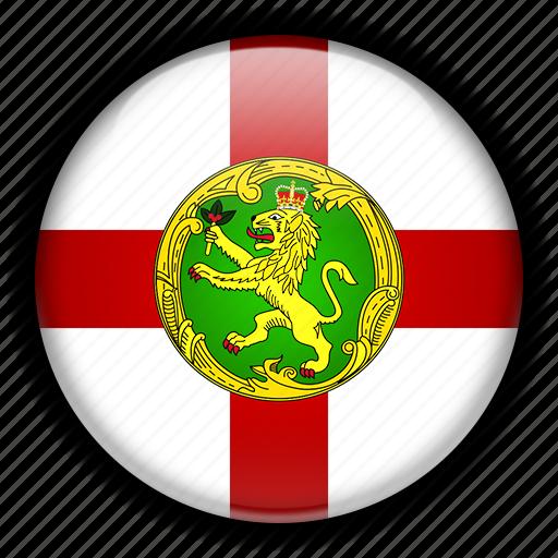 alderney, europe, kingdom, united icon