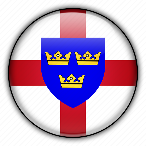 anglia, east, england, europe, kingdom, united icon