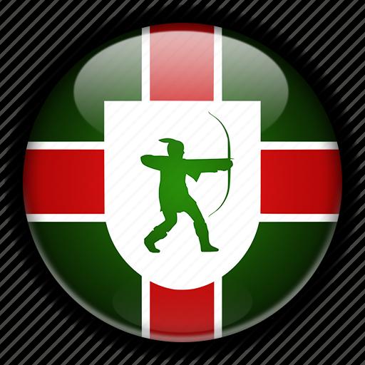 england, europe, kingdom, nottinghamshire, united icon