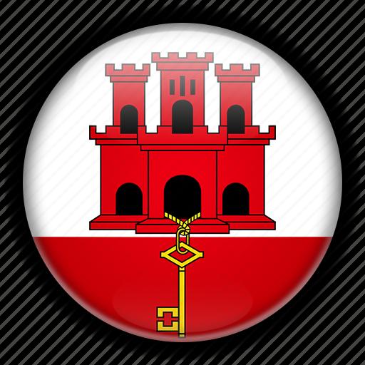 europe, gibraltar, kingdom, united icon