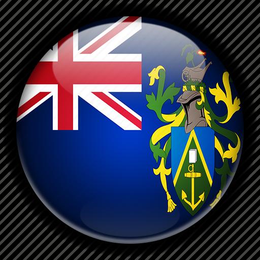 europe, islands, kingdom, pitcairn, united icon