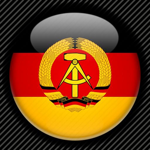democratic, former, german, republic icon