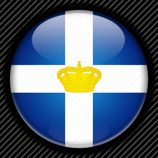 former, greece, kingdom icon