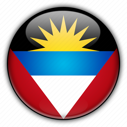 america, and, antigua, barbuda, north icon