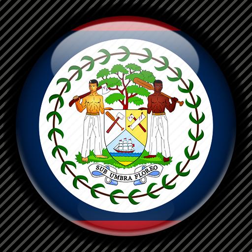 america, belize, north icon