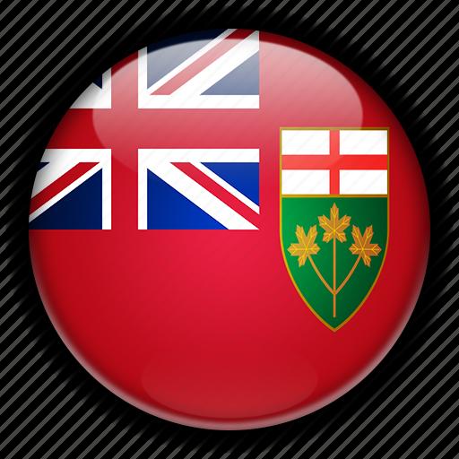 america, canada, north, ontario icon