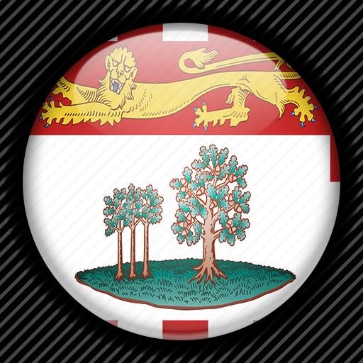 america, canada, edward, island, north, prince icon