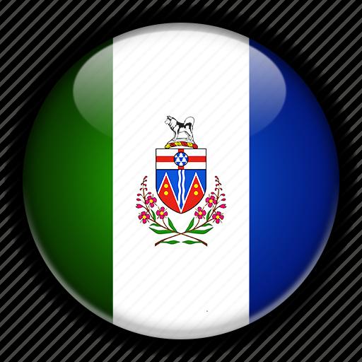 america, canada, north, yukon icon