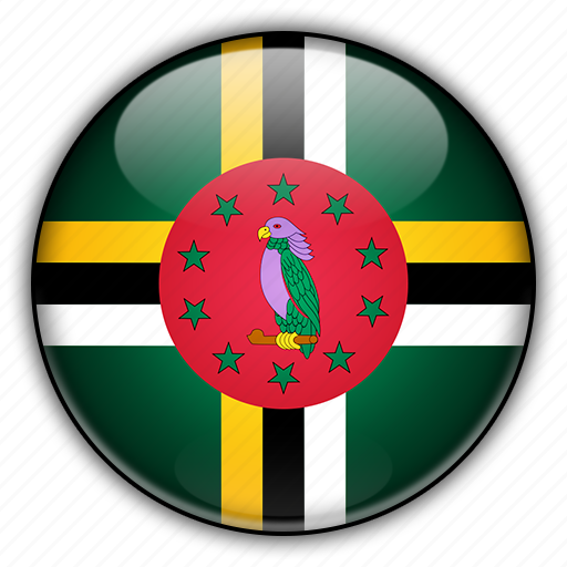 america, dominica, north icon