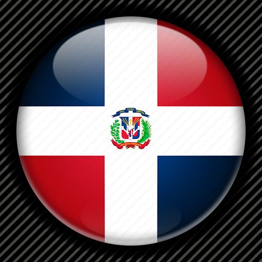 america, dominican, north, republic icon