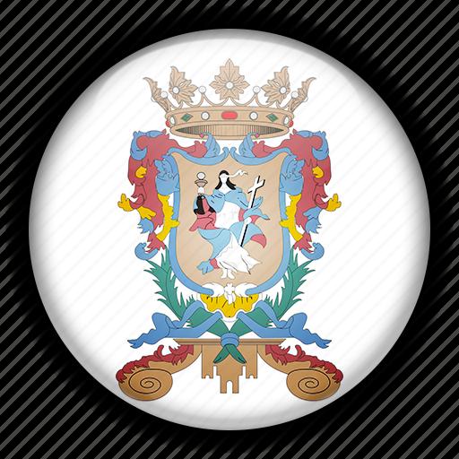 america, guanajuato, mexico, north icon