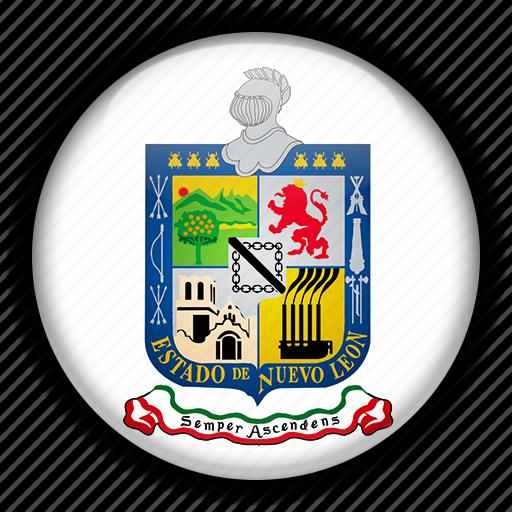 america, leon, mexico, north, nuevo icon