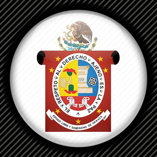 america, mexico, north, oaxaca icon
