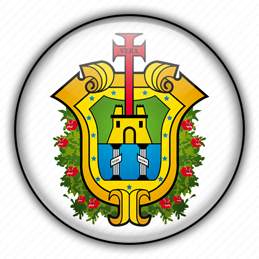 america, mexico, north, veracruz icon
