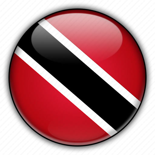 america, and, north, tobago, trinidad icon
