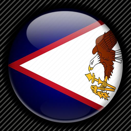 america, american, north, remote, samoa, us icon