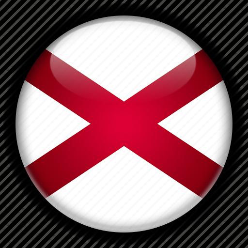 alabama, america, north, states, united icon