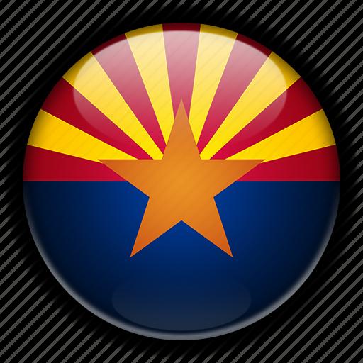 america, arizona, north, states, united icon