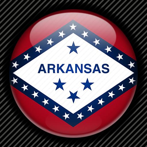 america, arkansas, north, states, united icon