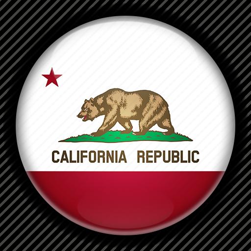 america, california, north, states, united icon
